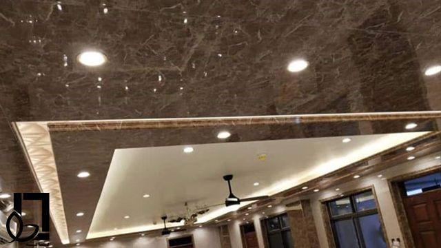 سقف کاذب ماربل شیت