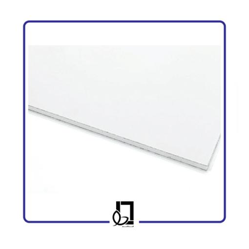 خرید تایل گچی ساده سفید| قیمت تایل گچی ساده سفید