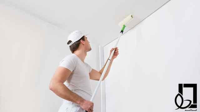 رنگ کردن سقف | لنالند | لنا طرح لوتوس