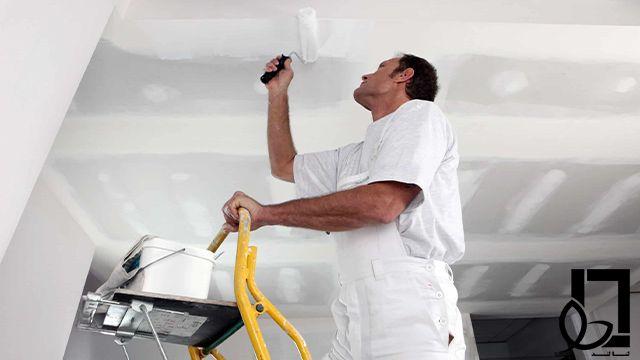 رنگ کردن سقف